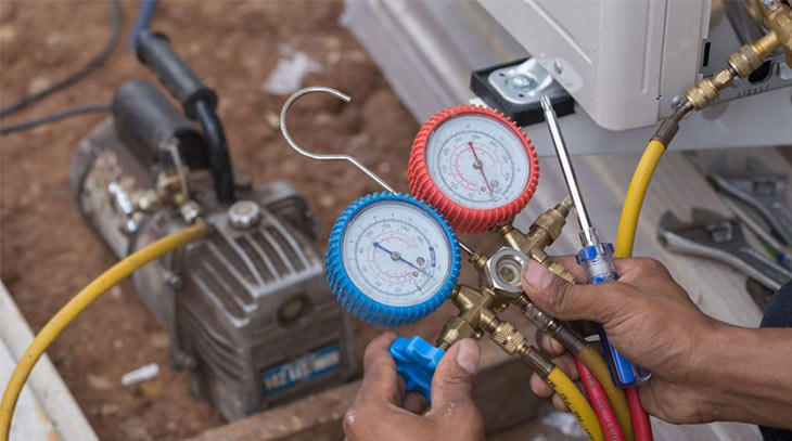 Hướng dẫn nạp gas điều hòa đúng cách