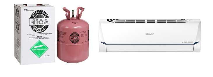 Nạp gas điều hòa R410A