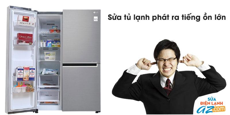Sửa tủ lạnh phát ra tiếng ồn lớn