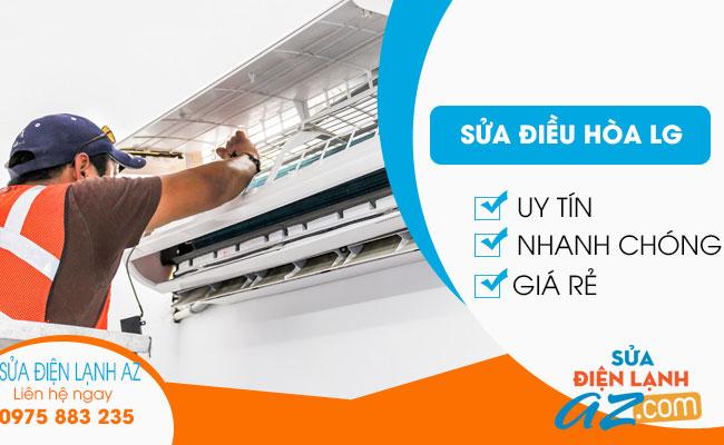 Dịch vụ sửa điều hòa LG