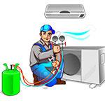 Bơm gas điều hòa