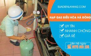 Dịch vụ nạp gas điều hòa tại Hà Đông