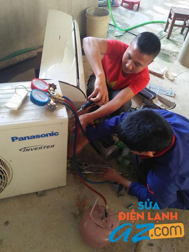Dịch vụ nạp gas điều hòa tại nhà quận đống đa
