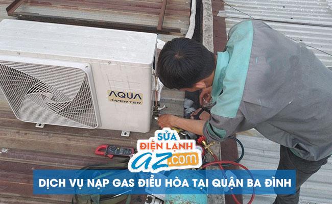 Nạp gas điều hòa tại Ba Đình