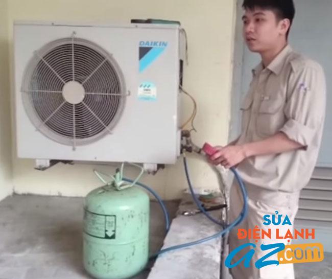 Dịch vụ nạp gas điều hòa tại quận cầu giấy