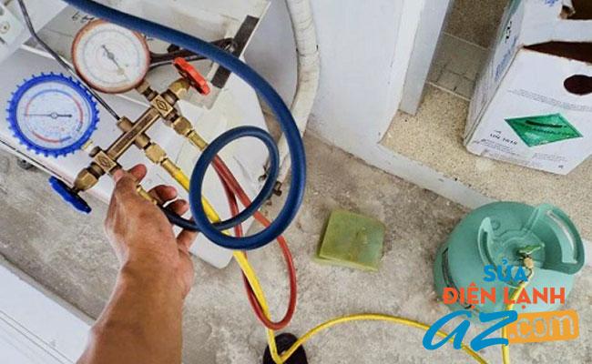 Quy trình nạp gas điều hòa tại Ba Đình