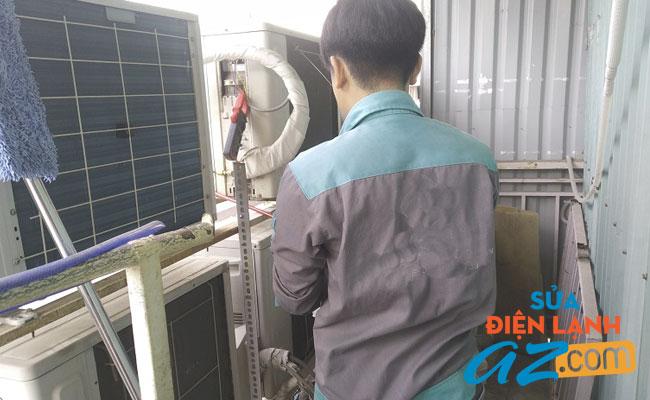 Thợ nạp gas điều hòa tại quận Ba Đình
