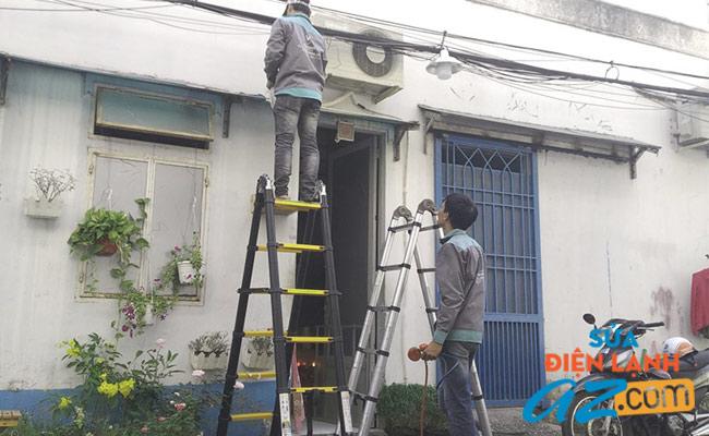 Thợ sửa điều hòa Electrolux chuyên nghiệp