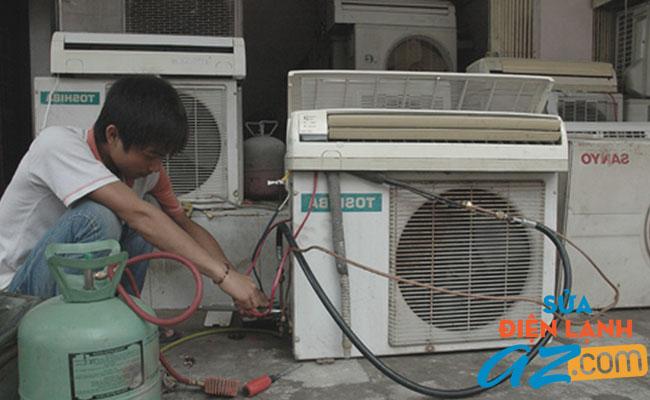Dịch vụ nạp gas điều hòa tại Hoàn Kiếm
